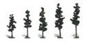"Woodland 2 1/2 4""CONIFR GRN TREES 42/KT, LIST PRICE $19.99"