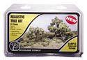"Woodland Scenics 3/4 3""MED GRN DECID TREE 21/KT, LIST PRICE $16.99"