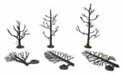 "Woodland Scenics 3 5"" TREE ARMATURES, LIST PRICE $15.99"