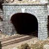 Woodland HO TUNNEL PORT CUT STN DBL 1EA, LIST PRICE $11.99