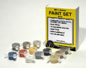 Woodland Scenics MINI SCENE PAINT SET, LIST PRICE $9.99