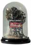 "Woodland Scenics 3""MINI SCENE DISPLAY DOME/BASE, LIST PRICE $15.99"