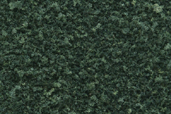Woodland Scenics DK GREEN COARSE TURF, LIST PRICE $10.99