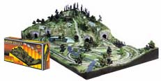 Woodland Scenics GRAND VALLEY HO LAYOUT KIT, LIST PRICE $549.99
