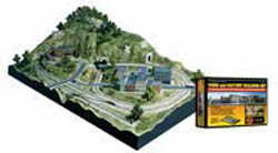 Woodland Scenics TOWN & FACTORY N BUILDING SET, LIST PRICE $169.99