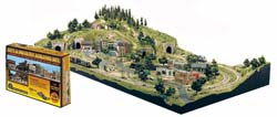 Woodland Scenics CITY & INDUSTRY HO BUILDNG SET, LIST PRICE $299.99