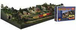 Woodland Scenics RIVER PASS HO BUILDING KIT, LIST PRICE $299.99