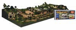 Woodland Scenics RIVER PASS SCENERY KIT, LIST PRICE $269.99