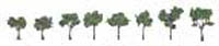 "Woodland Scenics 3/4 1 1/4""RM REAL MED GR 8/PK, LIST PRICE $9.99"