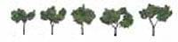 "Woodland Scenics 1 1/4 2"" RM REAL MED GR 5/PK, LIST PRICE $10.99"