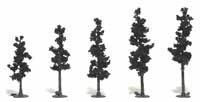 "Woodland Scenics 2 1/2 4"" RM REAL PINE 5/PK, LIST PRICE $10.99"