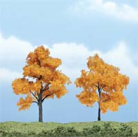 Woodland Scenics  2 3/8 3 PREM FALL MAPLE 2/PK, LIST PRICE $16.99