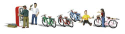 Woodland Scenics HO BICYCLE BUDDIES, LIST PRICE $20.99