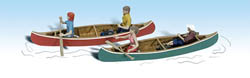 Woodland HO CANOERS, LIST PRICE $18.99