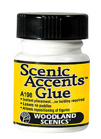 Woodland SCENIC ACCENTS GLUE, LIST PRICE $4.99