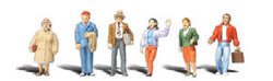 "Woodland Scenics 1/16"" STANDING PEOPLE, LIST PRICE $14.99"