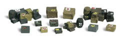 Woodland Scenics N ASSORTED CRATES, LIST PRICE $16.99