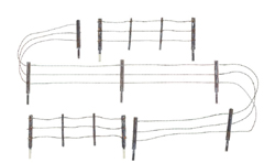 Woodland HO Barbed Wire Fence, LIST PRICE $14.99