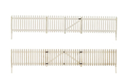 Woodland HO Picket Fence, DUE 9/30/2019, LIST PRICE $14.99