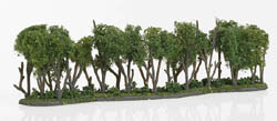 "Woodland Scenics 1"" 2 3/8"" X 7 3/4"" HEDGEROW, LIST PRICE $26.99"