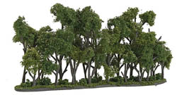 "Woodland Scenics 2"" 4"" X 8 1/4"" HEDGEROW, LIST PRICE $28.99"
