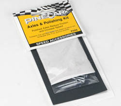 Woodland AXLES & POLISHING KIT, LIST PRICE $3.99