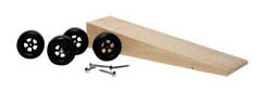 Woodland Scenics BASIC PINECAR WEDGE KIT (INST), LIST PRICE $3.99