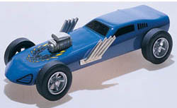 Woodland TURBO FUNNYCAR DELUXE CAR KIT, LIST PRICE $14.99