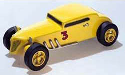 Woodland BANDIT COUPE DELUXE CAR KIT, LIST PRICE $14.99