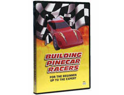 Woodland Scenics BUILDING PINECAR RACERS DVD, LIST PRICE $14.99