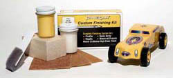 Woodland Scenics BAJA YELLOW CUSTOM FINISH KIT, LIST PRICE $9.99