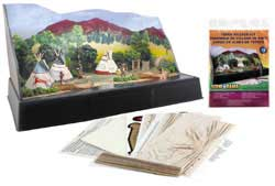 Woodland Tepee Village Kit, LIST PRICE $6.99