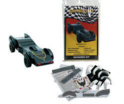Woodland Scenics BATCAR DESIGNER KIT, LIST PRICE $8.49
