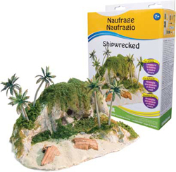 Woodland Scenics Landescapes - Shipwrecked, LIST PRICE $24.99