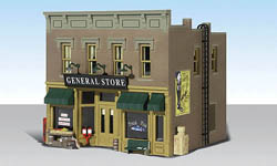 Woodland HO LUBENER'S GENERAL STORE, LIST PRICE $84.99