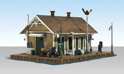 Woodland HO DANSBURY DEPOT, LIST PRICE $84.99