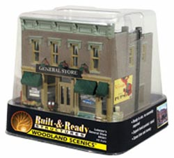 Woodland Scenics HO CLYDE & DALES BARREL FACTORY, LIST PRICE $89.99