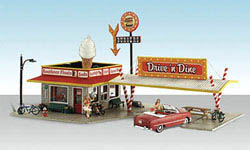 Woodland HO DRIVE 'N DINE, LIST PRICE $99.99