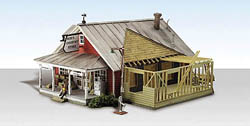 Woodland HO COUNTRY STORE EXPANSION, LIST PRICE $89.99