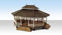Woodland HO GRAND GAZEBO, LIST PRICE $74.99