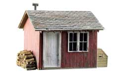 Woodland HO Built-Up Work Shed, LIST PRICE $27.99