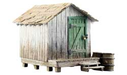 Woodland Scenics HO Built-Up Wood Shack, LIST PRICE $26.99