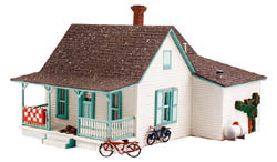 Woodland HO COUNTRY COTTAGE, LIST PRICE $45.99