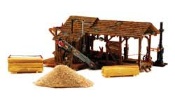 Woodland HO Buzz's Sawmill Building Kit, LIST PRICE $59.99