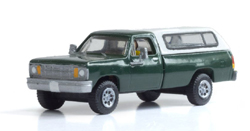 Woodland HO CAMPER SHELL TRUCK, DUE 3/30/2020, LIST PRICE $49.98