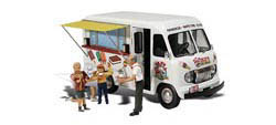 Woodland Scenics HO IKE'S ICE CREAM TRUCK, LIST PRICE $30.99