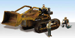 Woodland Scenics HO Fritz's Front Loader - Assembled - AutoScenes, LIST PRICE $24.99