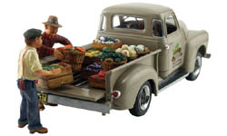Woodland Scenics HO PAUL'S FRESH PRODUCE, LIST PRICE $26.99