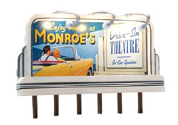Woodland Scenics HO Monroe's Drive-In, LIST PRICE $59.98