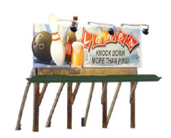 Woodland Scenics HO Lanes Bowling & Bar, LIST PRICE $59.98
